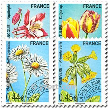 n° 253/256 -  Selo França Pré-obliterados