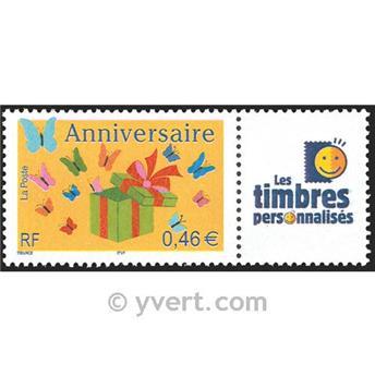 n.o 3480A -  Sello Francia Personalizados