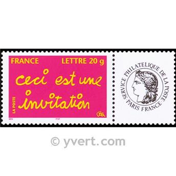 nr. 3760A -  Stamp France Personalized Stamp