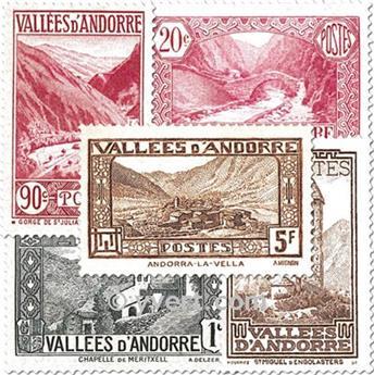 nr. 24/45 -  Stamp Andorra Mail