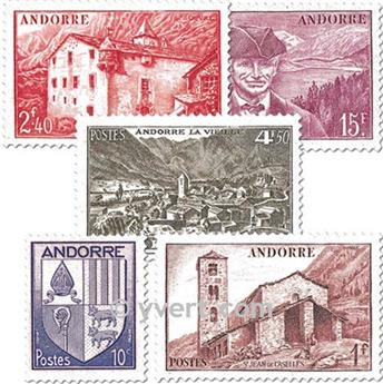 n° 93/118 -  Timbre Andorre Poste
