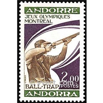 n° 256 -  Selo Andorra Correios