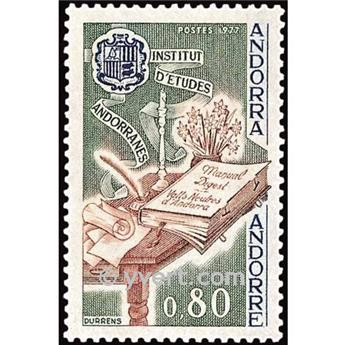 nr. 263 -  Stamp Andorra Mail
