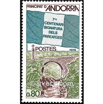 n° 268 -  Selo Andorra Correios