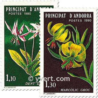 nr. 286/287 -  Stamp Andorra Mail