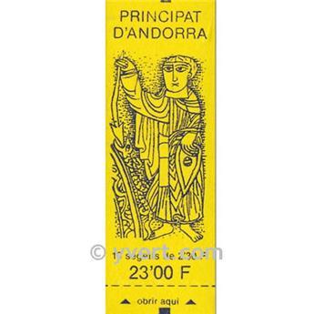 nr. 3 -  Stamp Andorra Booklets