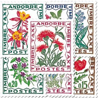 nr. 46/52 -  Stamp Andorra Revenue Stamp