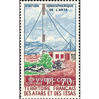 nr. 63 -  Stamp Afars and Issas Air mail