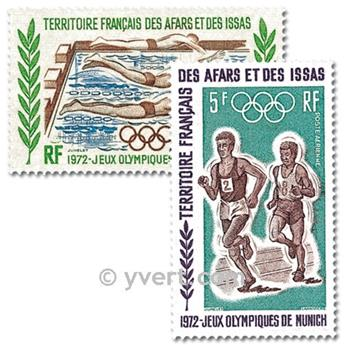 nr. 72/75 -  Stamp Afars and Issas Air mail