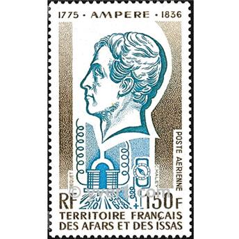 nr. 107 -  Stamp Afars and Issas Air mail