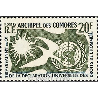 n° 15 -  Selo Comores Correios