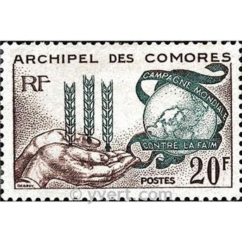 n.o 26 -  Sello Comoras Correos