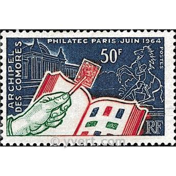 n° 32 -  Timbre Comores Poste