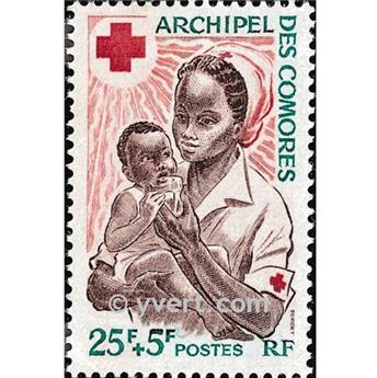 n.o 45 -  Sello Comoras Correos