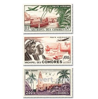 nr. 1/3 -  Stamp Comoro Island Air mail
