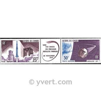 n° 16A -  Selo Comores Correio aéreo
