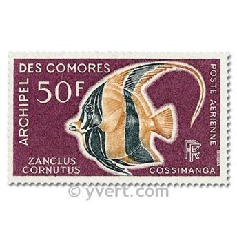 n.o 23 / 24 -  Sello Comoras Correo aéreo