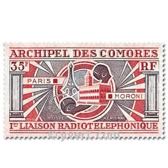 n.o 42 / 43 -  Sello Comoras Correo aéreo