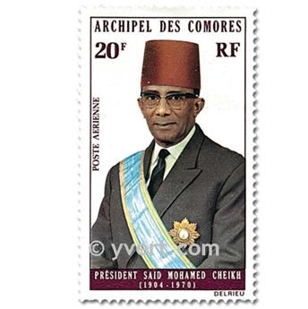 n° 50/51 -  Selo Comores Correio aéreo