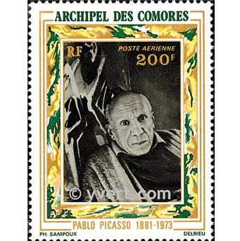 n° 57 -  Timbre Comores Poste aérienne