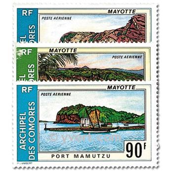 n° 62/64 -  Timbre Comores Poste aérienne