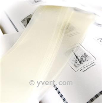 Tiras soldura simples -  36 mm (Fundo transparente)