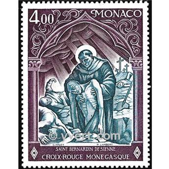 n.o 1005 -  Sello Mónaco Correos