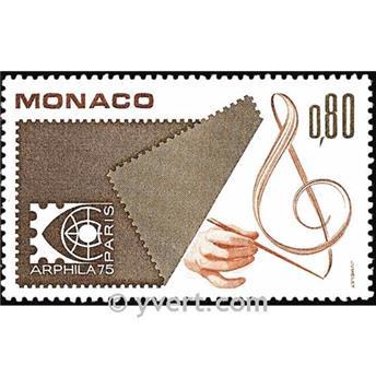 n.o 1012 -  Sello Mónaco Correos