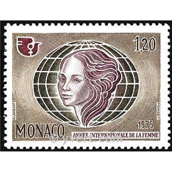 n.o 1017 -  Sello Mónaco Correos