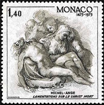 n.o 1034 -  Sello Mónaco Correos