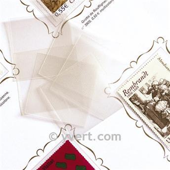 Protetores soldura simples -  LxA 26 x 20 mm (Fundo transparente)