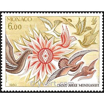 n° 1247 -  Timbre Monaco Poste
