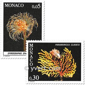 n° 1253/1263 -  Timbre Monaco Poste