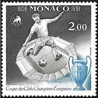 n° 1275 -  Selo Mónaco Correios