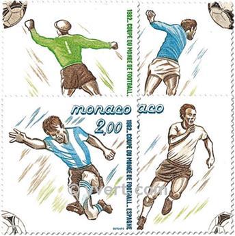 nr. 1312/1315 (BF 21) -  Stamp Monaco Mail