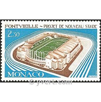 n° 1327 -  Timbre Monaco Poste
