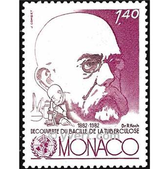 n° 1333 -  Timbre Monaco Poste