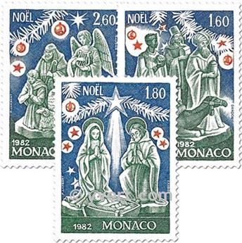n° 1352/1354 (BF 23) -  Timbre Monaco Poste