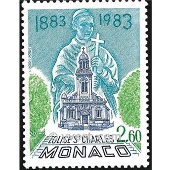 n.o 1368 -  Sello Mónaco Correos