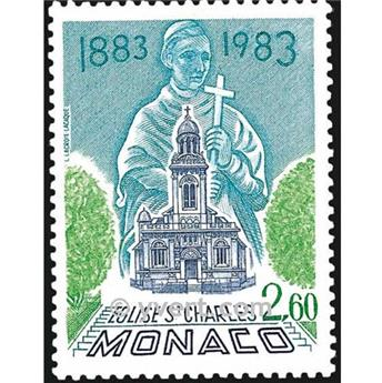 nr. 1368 -  Stamp Monaco Mail