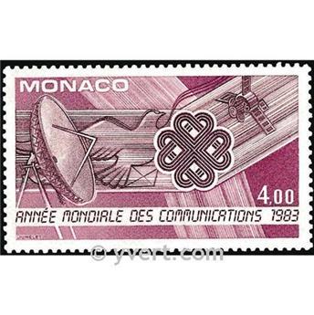 n.o 1373 -  Sello Mónaco Correos