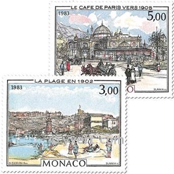 n° 1385/1386 -  Timbre Monaco Poste