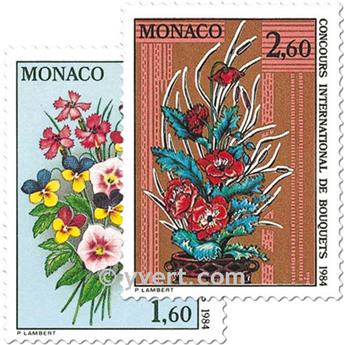 n.o 1398/1399 -  Sello Mónaco Correos