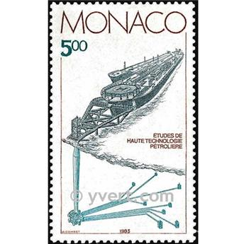 n° 1403 -  Timbre Monaco Poste