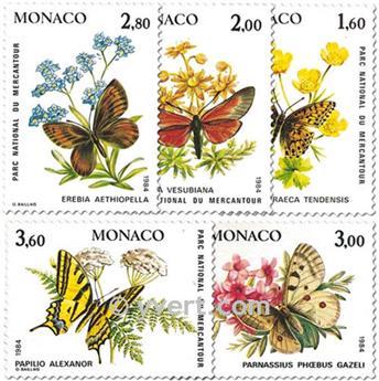 n° 1420/1424 -  Timbre Monaco Poste