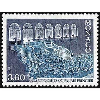 n° 1429 -  Timbre Monaco Poste