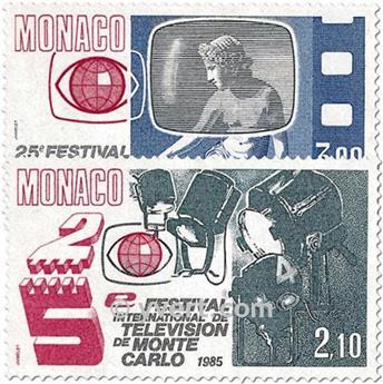 n° 1446/1447 -  Timbre Monaco Poste