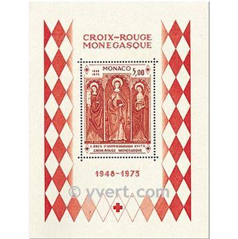 n° 7 -  Selo Mónaco Blocos e folhinhas