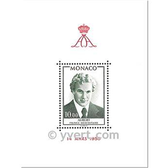n° 16 -  Timbre Monaco Bloc et feuillets