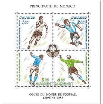 n° 21 -  Timbre Monaco Bloc et feuillets